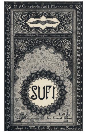 Sufi magazine boekomslag
